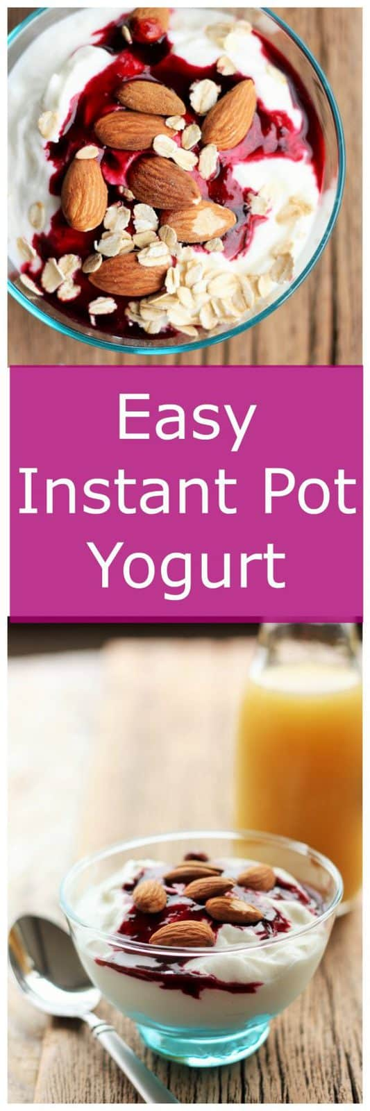 easy instant pot yogurt | sustainablecooks.com