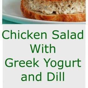 Chicken Salad With Greek Yogurt and Dill
