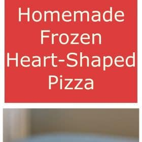 heart shaped pizza | sustainablecooks.com