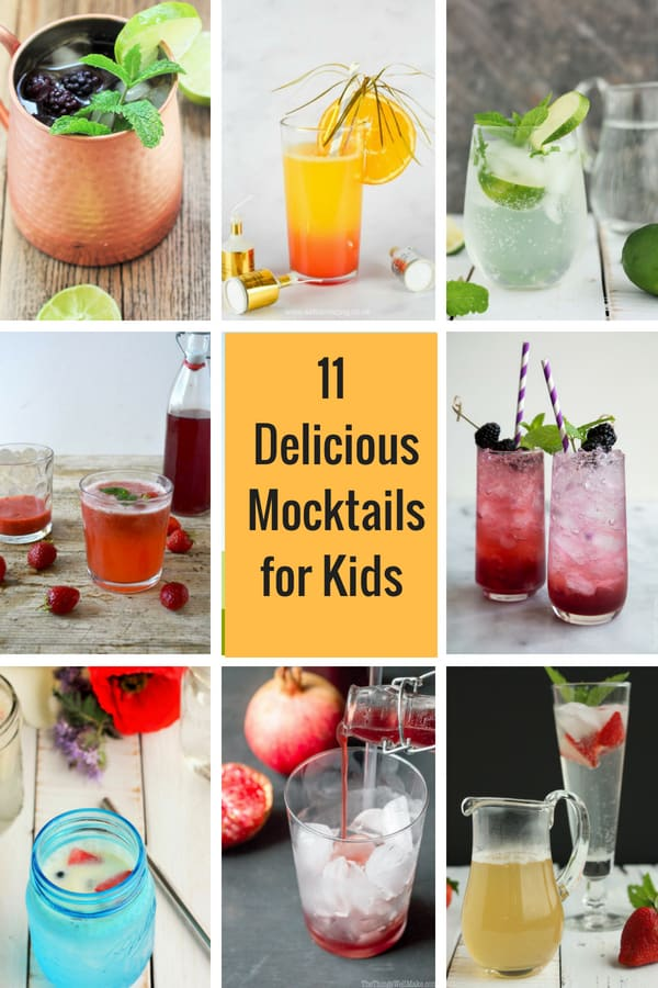 A collection of the most delectable recipes available for Mocktails for Kids and Grown Ups! Drinks so delicious that you won't even miss the alcohol!  #sustainablecooks #mocktails #drinks #nonalcoholic