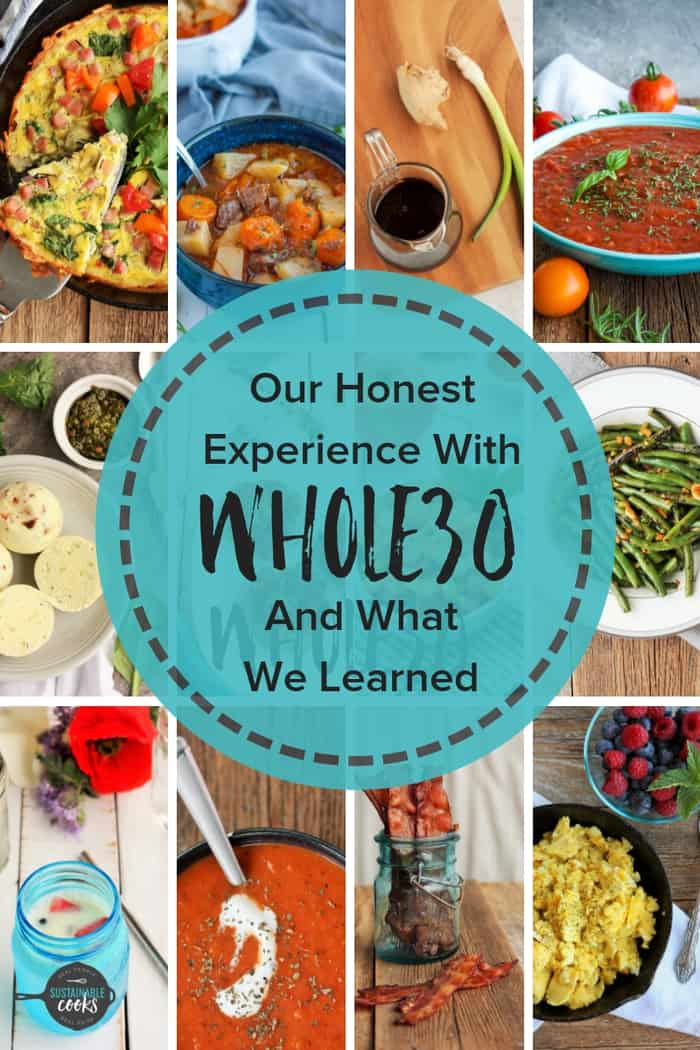 How one married couple navigated the strict rules of the Whole30 and what actually happened after 30 days. Delicious breakfasts, snacks, dinners, and meal plans are shared, along with an honest review and before and after results. #whole30 #mealplan #breakfasts #dinners #beforeandafter