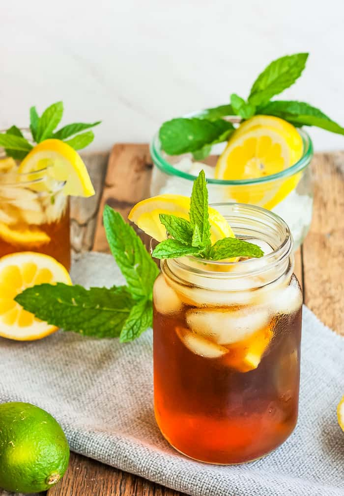 Healthy Sweet Tea Recipe Honey Iced Tea Sustainable Cooks