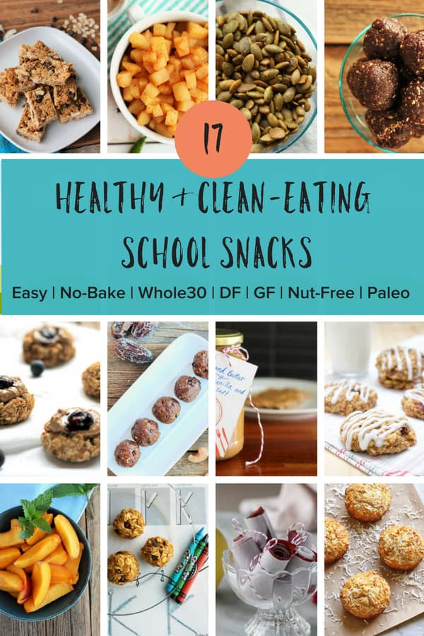Easy and clean eating healthy school snacks for kids and teens. Tips for back to school snacks and treats for on the go that are better than store-bought. #sustainablecooks #healthysnacks #backtoschool #healthyschoolsnacks #easysnackforkids #afterschoolsnacks