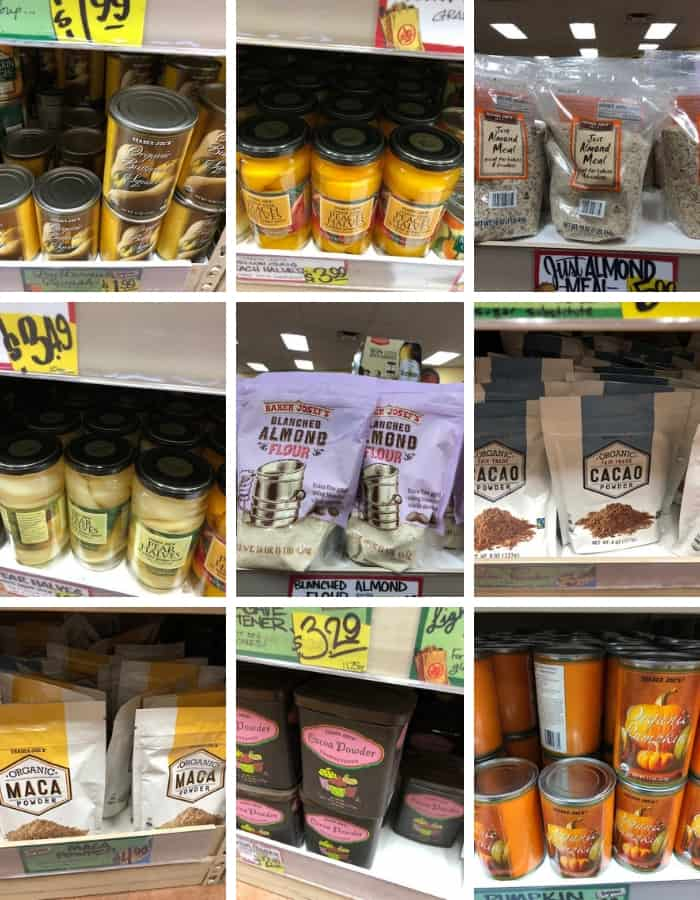 whole30 compliant baking items at trader joe's