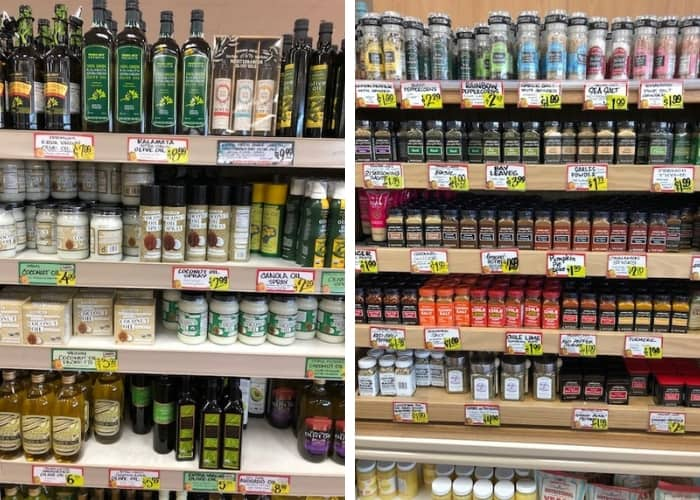 oils and spices that are whole30 compliant at trader joe's