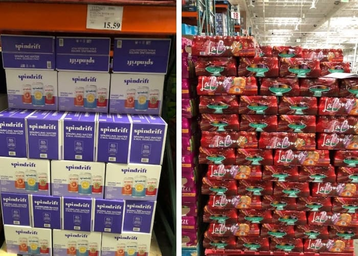 whole30 complian drinks at Costco