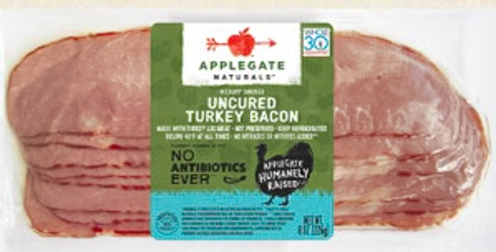applegate naturals whole30 turkey bacon