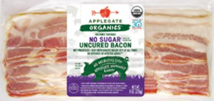 Applegate organics whole30 bacon