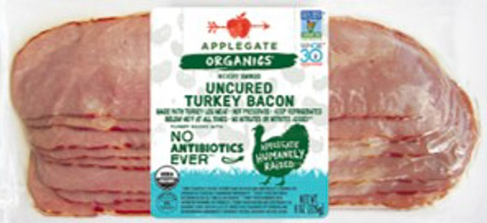 applegate organics whole30 turkey bacon