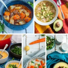 5 photos of amazing Whole30 soups