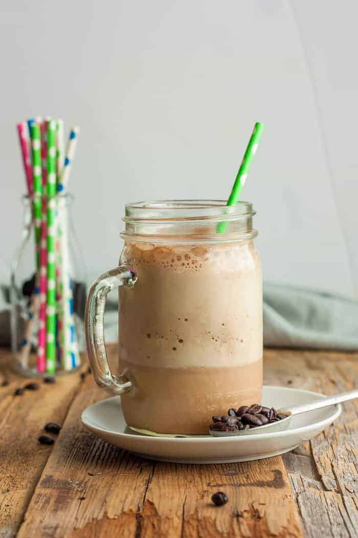 Blended Iced Coffee Healthy Iced Coffee Sustainable Cooks