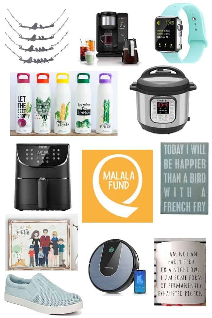 Waterbottles, an Instant Pot, air fryer, other other gift ideas for mother's day