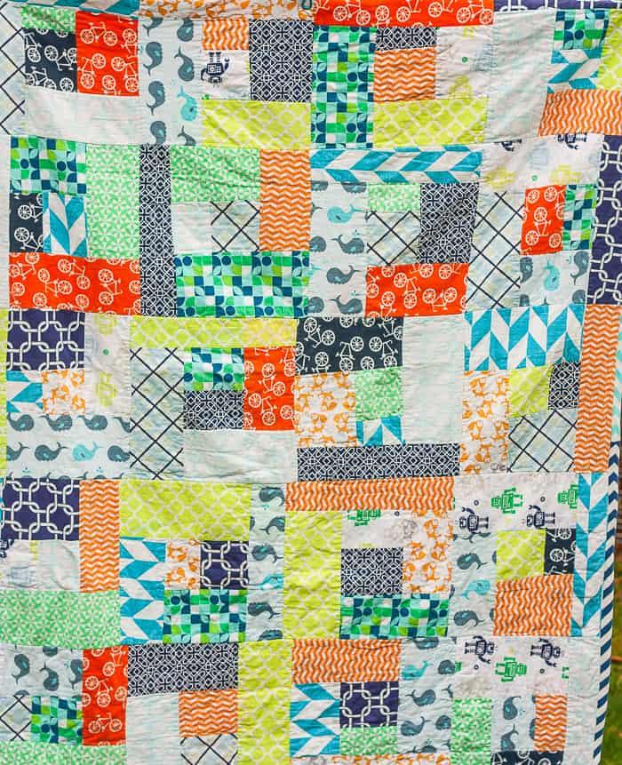 Make Mom a Simple Beginner Quilt
