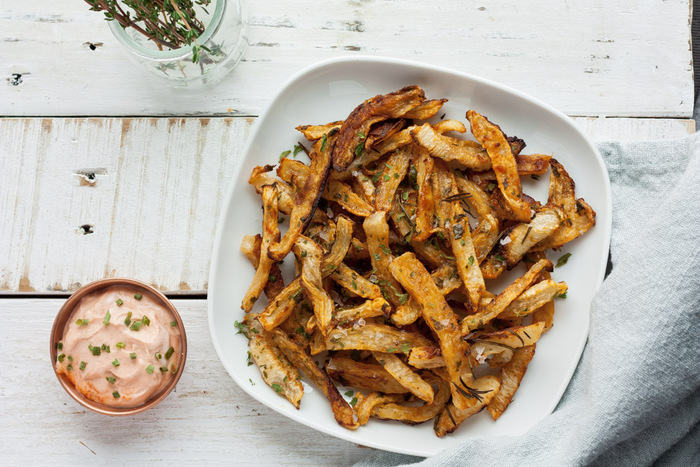 Crispy Turnip Fries Whole30 Paleo Vegan Keto