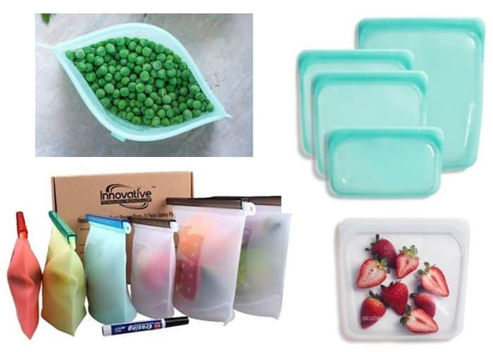Zero Waste Food Storage Reusable Containers