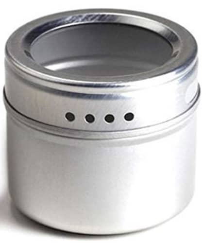 stainless steel spice tin for zero waste food storage