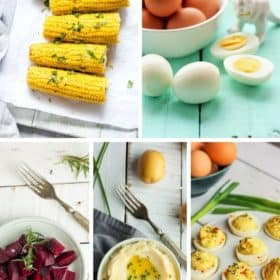 5 photos of instant pot side dishes