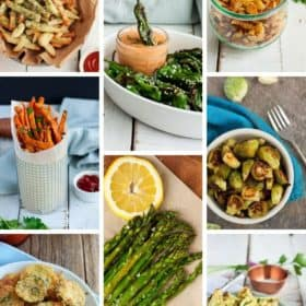 8 photos of air fryer vegetable recipes
