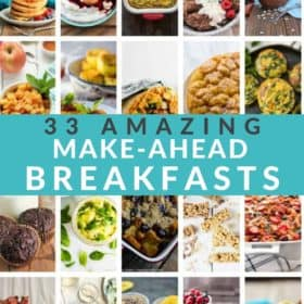 20 photos of breakfasts in a grid