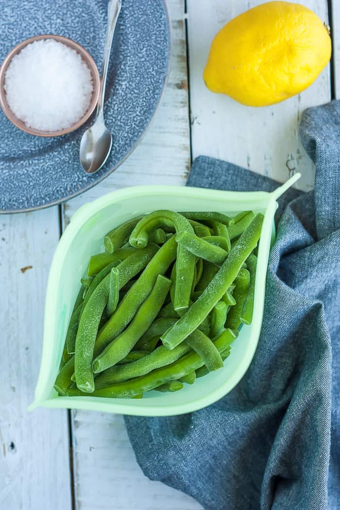 Blanched Green Beans {Freezing Green Beans} | Sustainable Cooks