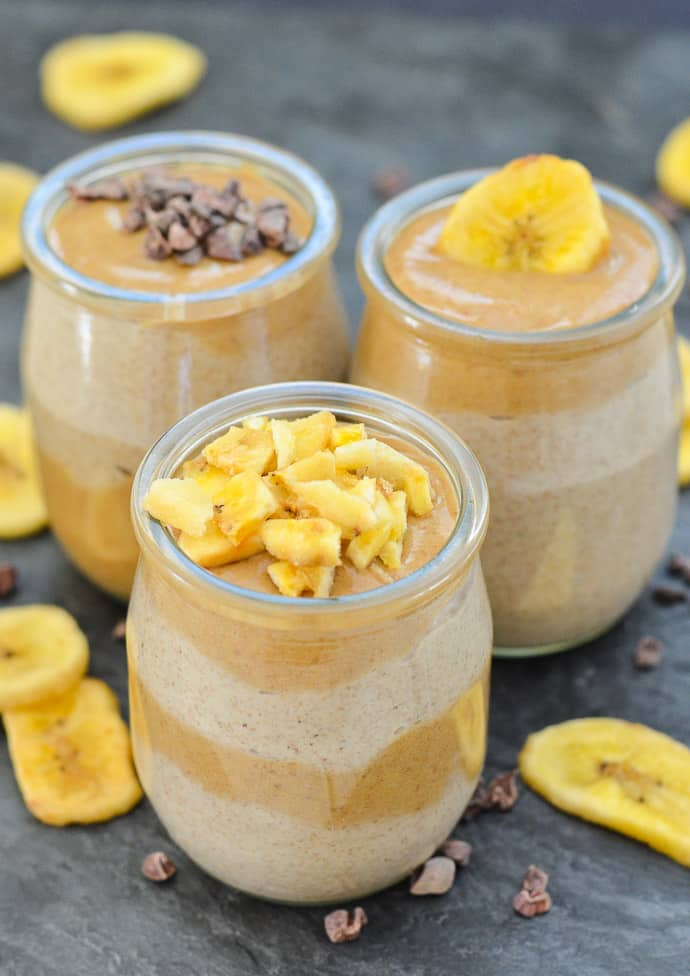 Healthy Caramel Chia Seed Pudding