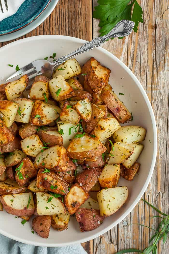 Crispy Ranch Air Fryer Potatoes