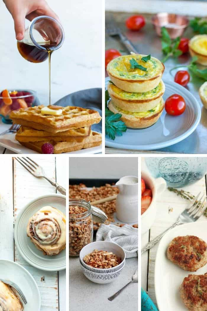 5 photos of make ahead christmas morning breakfasts
