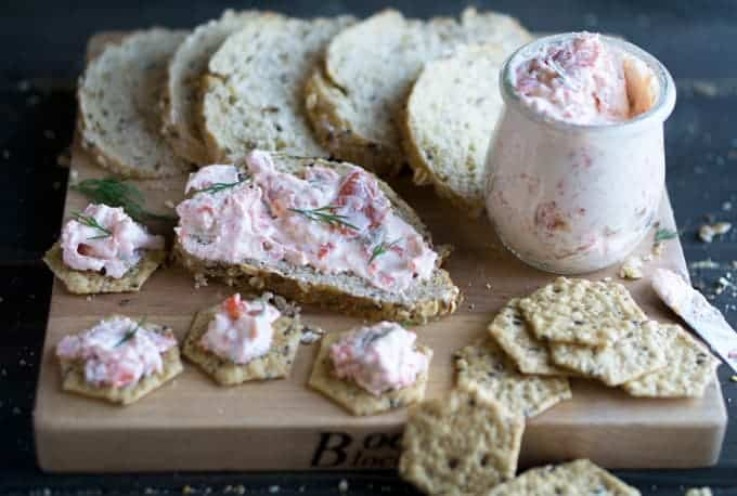 Smoked Salmon Dip with Greek Yogurt