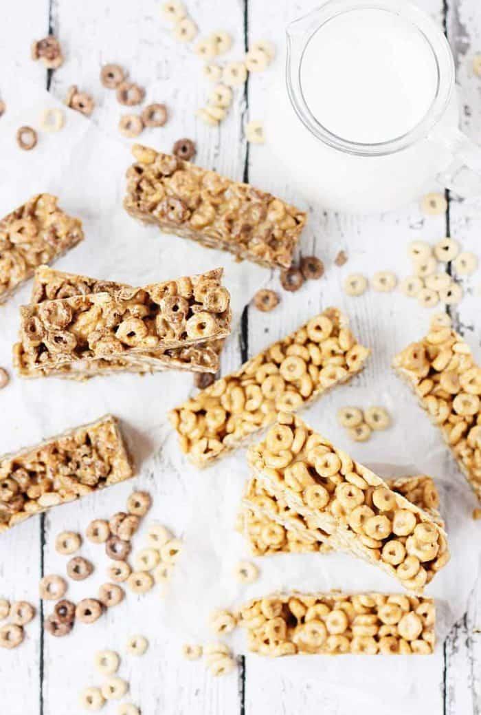 Easy No-Bake Cereal Bars