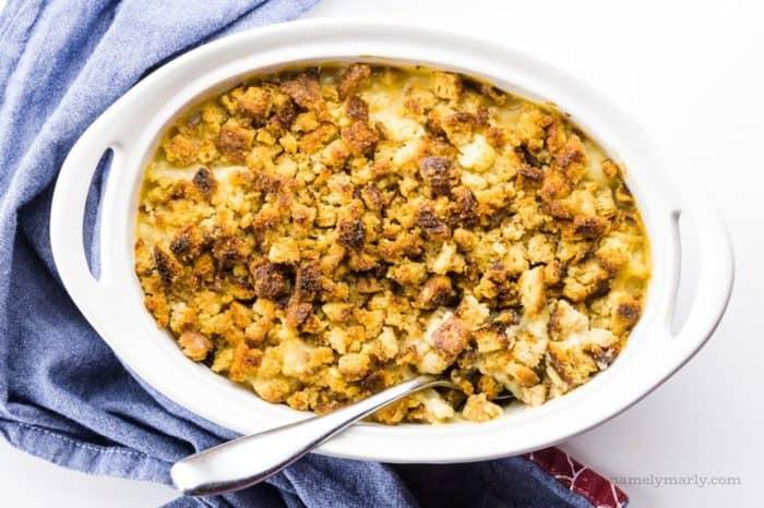 Easy Vegan Cauliflower Gratin Recipe