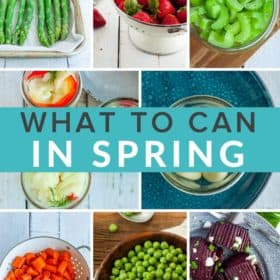 8 photos of springtime produce dishes