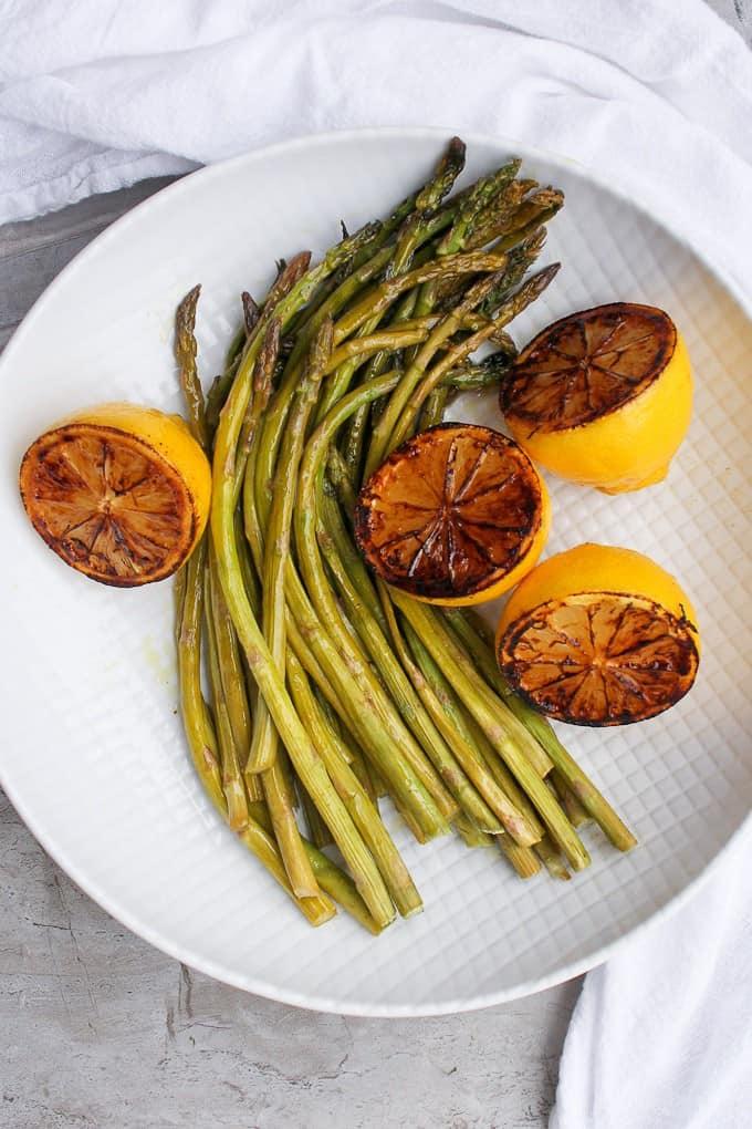 The EASIEST Roasted Asparagus