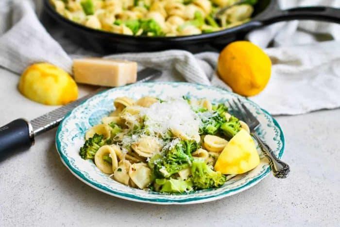 Orecchiette with Broccoli and Lemon