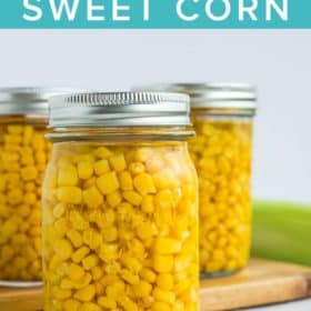 3 jars of canned corn