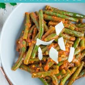 Green Beans & Marinara