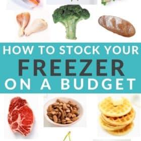 images of frozen foods