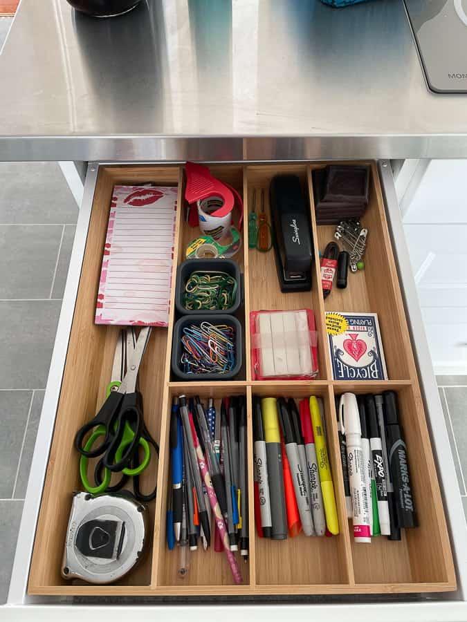 a junk drawer