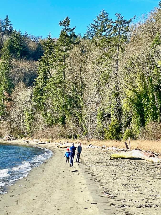 3 kids on a beach