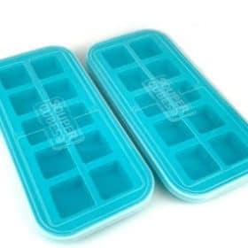 2 teal souper cubes with lids