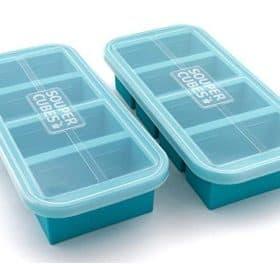 2 large souper cubes with lids