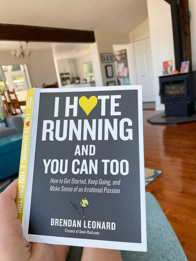 """a book called """"I hate running and you can too"""""""